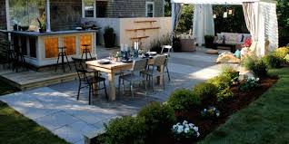 Relaxing front yard fence remodel ideas Metal Landscaping Ideas For Low Maintenance Yard Elle Decor Easy Landscaping Ideas Low Maintenance Landscape Design Tips