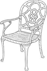 chair clipart black and white. cat chair clipart black and white m