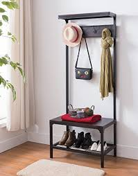 Espresso Coat Rack Tree