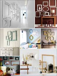 picture frame wall decor ideas inspiring goodly ideas about empty picture frames on style best photo
