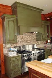 guy kitchen meg: green distressed kitchen cabinets professional team of artists amp designers