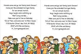 free reunion invitation templates reunion invitation templates free family reunion invitation