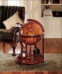 office mini bar. plain office globe mini bar cart office home table trolley 16th century old world map  finish and l