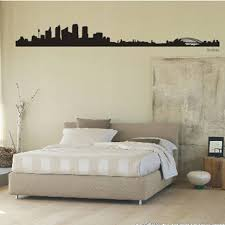 sydney city decal landmark skyline wall stickers sketch decals