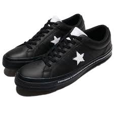 details about converse one star terry leather black white men shoes sneakers trainers 159721c