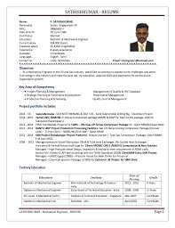 SATHISHKUMAR - RESUME SATHISHKUMAR - Mechanical Engineer - RESUME Page 1  Name: P. SATHISHKUMAR ...