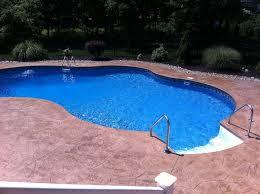 stamped concrete pool patio. Www.njmasonrycontractor.com Concrete Pool Surround NJ Stamped Patio E