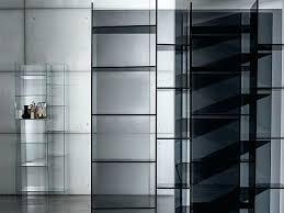 glass shelves bookcase freestanding modular shelving ikea billy shelf