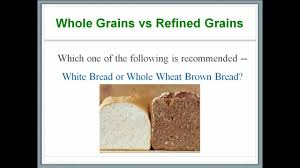 Refined Grains Whats In Our Food 6 Carbohydrates Whole Grains Versus Refined