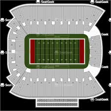 Rice Eccles Stadium Detailed Seating Chart Michigan Stadium Seating Map Rice Eccles Stadium Seating