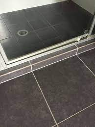 using clr to clean shower screens and tiles