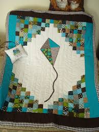 13 best Kite Quilts images on Pinterest | Quilt patterns, Baby boy ... & Baby quilt - love these colors Adamdwight.com
