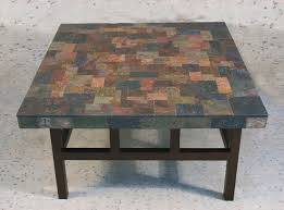 slate coffee table is the epitome of luxury tables of natural stone in ancient times during the monarchy has gained prominence today such a table