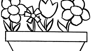 Impressive Flower Coloring Pages Easy For Adults Sheetsolers Free