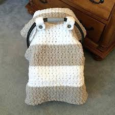car seat patterns for baby car seat covers free crochet blanket pattern infant cover large