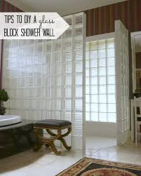 mom inspiration 5 glass block shower wall c r a f t and creative 11