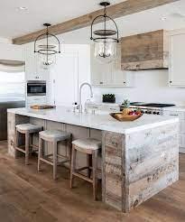 50 Kitchen Island Design Ideas With Marble Countertops 50kitchen Rustic Farmhouse Kitchen Rustic Kitchen Galley Kitchen Remodel