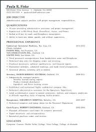 Receiving Clerk Resume Sample
