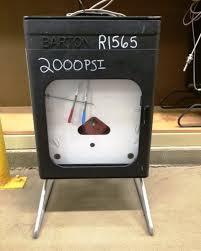 How Does A Barton Chart Recorder Work Itt Barton 242e 2000 X 0 150f Pressure And Temperature