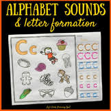 Practicing alphabet tracing with these adorable animals a to z uppercase letter tracing. Trace And Color Letters Worksheets Teaching Resources Tpt