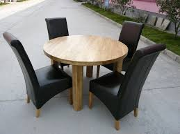 solid oak round kitchen table round dining table extending round oval dining table brilliant oak round