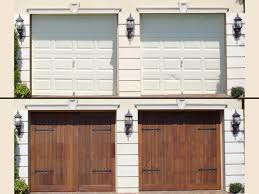 cottage garage doorsGarage Door Design Cool How To Make A Look Cottage Style 5  jumplyco