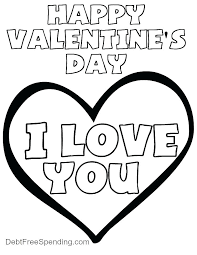 I Love You Coloring Pages Printable Cute Heart Coloring Pages Cute