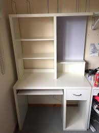 office desk with shelves. White Desk With Shelves Inspirational Ikea Mikael Office Draws And Magnetic
