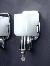 chrome bathroom sconces. Exellent Sconces Fabulous Chrome Bathroom Sconces  Vintage Single Throughout Chrome Bathroom Sconces A