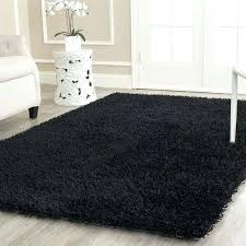 hand tufted area rug or runner black 4x6 rugs