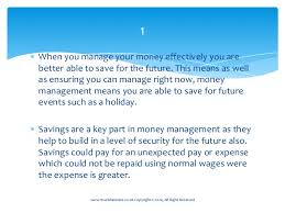 10 Reasons Why Managing Your Money Effectively Is Important