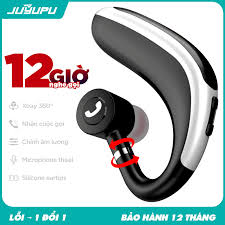 Tai nghe không dây JUYUPU BXJ7 cao cấp bluetooth V5.0 xoay 360 độ móc tai  dành cho iPhone Samsung OPPO VIVO HUAWEI XIAOMI - HÀNG CHÍNH HÃNG - Tai  nghe Bluetooth nhét