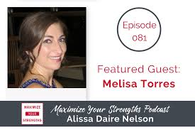 maximize your strengths podcast daire success coaching 081 tactics for writing a book your strengths melisa torres