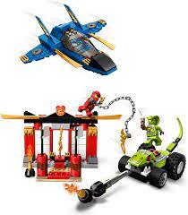 Kräftemessen mit dem Donner-Jet ab 4+ LEGO Ninjago 71703 Ratzekatz Lego