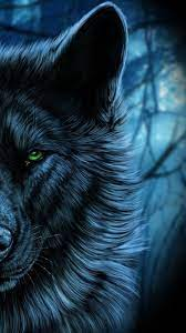 Download 750x1334 Wolf, Majestic, Green ...