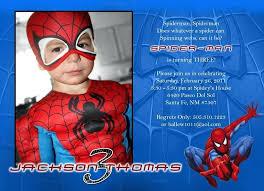 amusing birthday invitations fresh awesome ideas invitation spiderman homes template birthday invitations personalized spiderman