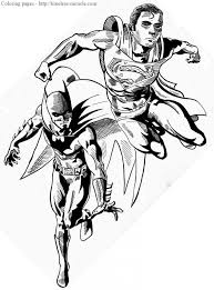 Friv > jogos do super homem > batman vs superman coloring. Batman Vs Superman Coloring Pages Coloring Rocks