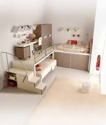 Loft Teenage Bedroom Modern Teenage Girl Room Furnitures Set Showing Custom Loft Bed