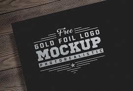 Logo Mock Up 15 Free Foil Logo Mockup Templates For Design Presentation