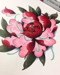 Peony Via Instagramcom цветы цветочные пионы татуировки