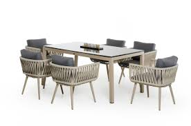 renava zoe modern outdoor dining set