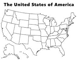 Usa Map Coloring Page Love The Little Symbols Social Studies Usa