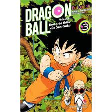 Truyện tranh DRAGON BALL FULL COLOR - PHẦN MỘT (1-5) (update tập mới nhất)