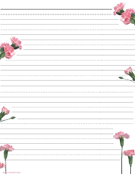 Lined Stationery Paper Beauteous Free Printable Kids Mother's Day Writing Paper Description From