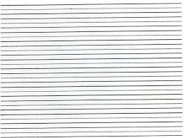 Elementary Ruled Paper Elementary Lined Paper Template Lccorp Co