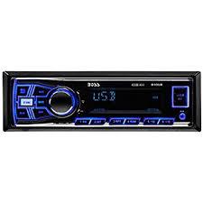 amazon com boss car sterio head unit 16 pin wire harness power boss audio 610ua single din mp3 usb sd am fm car stereo wireless remote