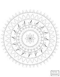 Small Picture coloring pages Celtic Tree of Life mandala arts culture