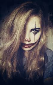 clown creepy diy costume makeup make up