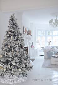 Dreaming of a White Christmas / karen cox. White and pastel Christmas tree