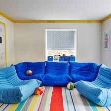 cool playroom furniture. Playroom With Ligne Roset Togo Fireside Chairs Cool Furniture